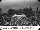 Glee Club at Mt. Helix Easter dawn / Lee Passmore