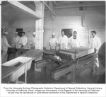 Dairy Industry, butter lab class in Creamery. Instructor Hogerman, second from right