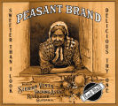 """Crate label, """"Peasant Brand."""" Packed by Sierra Vista Packing Assn., Riverside, Calif. """"Sweeter Than I Look."""" """"Delicious Try One."""""""