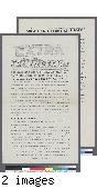 """Extra, """"Okamoto Dies from Gunshot Wound Inflicted by Sentry"""" (5-25-44)"""