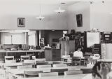 Interior of reading room, Citrus Union High School and Junior College Library, 1949