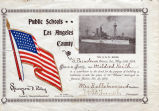School Certificate to Mildred Keith for the Maine Battleship Fund 1898