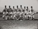 Baseball team, Citrus, 1957-58