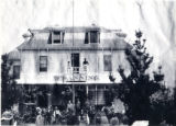 """""The Banning"""" hotel, formerly the """"Bryant House"""" and later called the """"San Gorgonio Inn"""" in Banning, California"