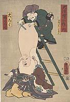 Ōtsu-e shosa no uchi – Daikoku, Fukuroku