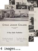 Citrus Junior College, mailer,1930s
