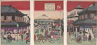 Tokyo meisho Suruga-chō, Mitsuiten ryōgawa fugaku chōbo no zu