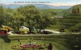 "Postcard: ""Busch's Sunken Garden, Pasadena, Cal."""