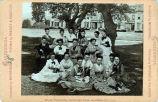 Eadweard Muybridge photograph of student group