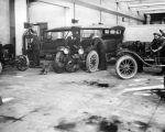 Auto shop, 1920