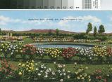 Postcard of the Municipal Rose Garden, San Jose, California