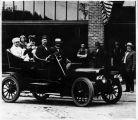 Automobile ride with Hadley Washington