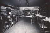 Interior of Gray's Department Store in Beaumont, California