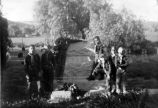 Cub Scouts at the Yorba Linda Cemetery, 1959