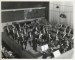 Los Angeles Philharmonic Orchestra in performance at Union Hall in Ljubljana, Yugoslavia
