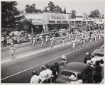 The 1947 Cherry Festival Parade, the Women's Band.