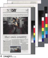 """""""Her own country"""" from The News and Observer"""