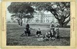 Eadweard Muybridge photograph of Mills Hall