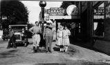 Hansen Brothers Dublin Garage (c.1925), photograph
