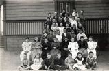Center Street School Students, about 1890