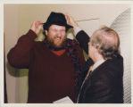 Photograph of Oliver Knussen and Ernest Fleischmann