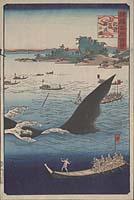 Shokoku meishō hyakkei: Hizen gotō geiryō no zu