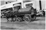 Mobil Oil Cart