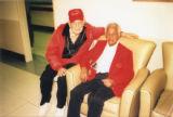 "Photograph of Amos """"Bud"""" Mathewson and Roosevelt Williams"
