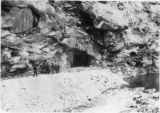 West portal of diversion tunnel for afterbay dam