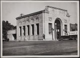 Beaumont's 2nd Bank Building, erected in 1923.  Northeast corner of 5th and California.