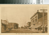 Postcard of Main Street, Santa Clara, California