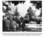 Inaugural ceremonies for University of California President Clark Kerr at the Davis                 campus