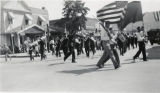 Parade during the Colorado Aqueduct celebration in downtown Banning, California