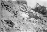 Excavating Anchor Number 10, Balch Penstock