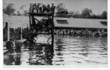 Ross Field, U.S. Army Balloon School Swimming Pool with Diving Platform