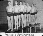 Varsity swimmers / Lee Passmore