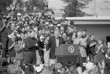 President Bill Clinton speaking at California State University, East Bay