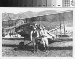 Gilbert Budwig and Fletcher Pomeroy with Mono Eagle