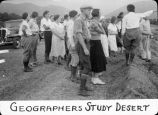 Geographers study desert / Lee Passmore