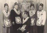 Joe Yabes, George Omo Sr., and Other Members of the Caballeros de Dimas-Alang Filipino Fraternal Organization