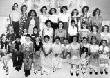 Graduation exercises, Murray School (1950), photograph