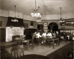South Pasadena Public Library Reading Room, about 1917