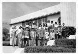 Lou Henry Hoover school children
