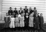 Murray School class photograph, (c. 1917), photograph