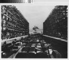 [Photograph of the liberty ship Joseph Smith at launching]