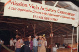 [Mission Viejo Activities Committee barbecue, circa 1970s photograph].