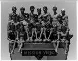 [Mission Viejo Nadadores Dive Team, 1983 photograph].