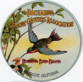 "Crate label, ""Hummingbird Brand."" Pachappa Orange Growers' Association."