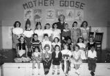 Mother Goose playlet graduation exercise #2, Murray School (1950), photograph