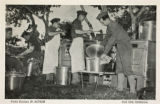 Field kitchen in action, Fort Ord, California